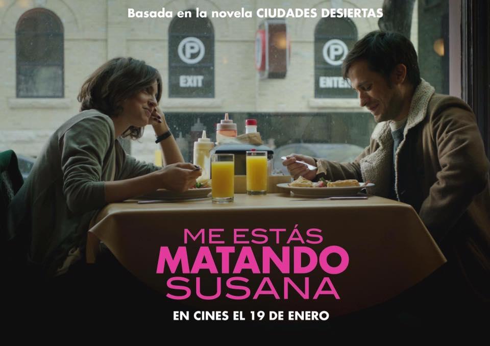 Me Estás Matando Susana, 19 De Enero En Cines