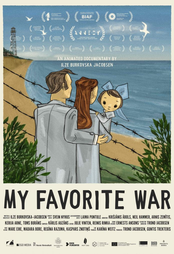 Poster My Favourite War